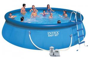 Надувной бассейн Intex 26176 549x122 Easy Set