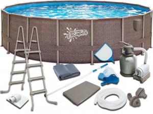 Каркасный бассейн SummerEscapes Р20-1852-S 549x132 Metal Frame