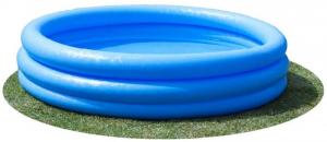 Бассейн Синий Кристалл Intex арт.59416 114х25см, от 2 лет