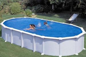 Каркасный бассейн GRE KITPR7388MAG овальный 730x375x132 см