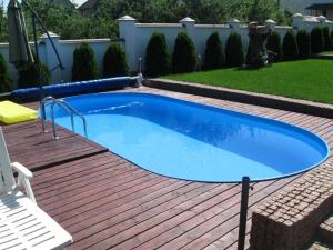 Сборный бассейн Summer Fun 4501010161KB овальный 500х300х120 см