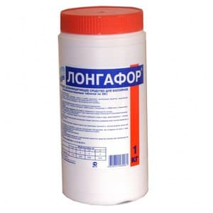 Лонгафор органический хлор в таблетках 20гр. Маркопул Кемиклс